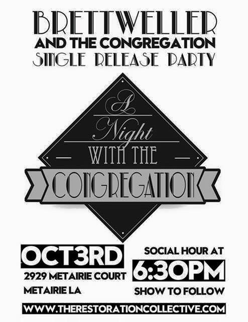 A Night With The Congregation_Single Release Party_Metairie_October 3 2015