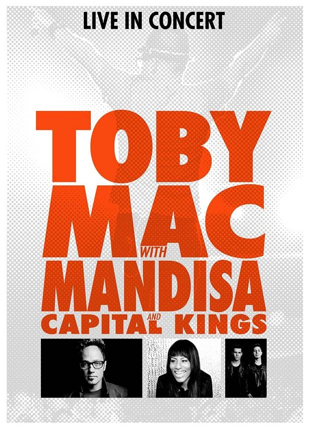 Toby Mac Concert Poster_March 8_Saenger Theater copy