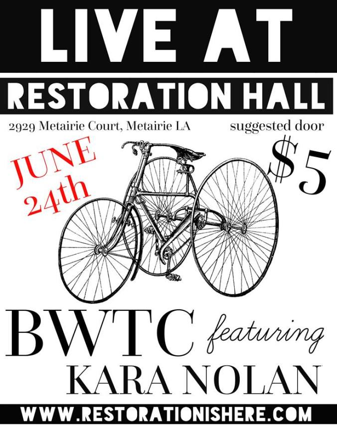 TRC Collective_BWTC_Kara Nolan_Restoration Hall_June 2016_Promo