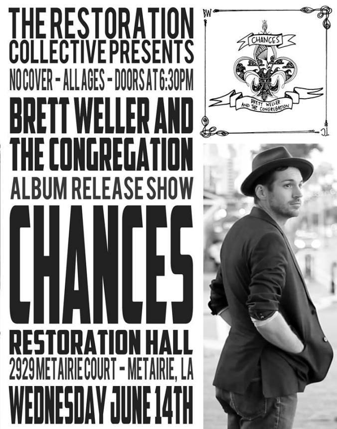 TRC_BWTC Chances Album Release Party_June 2017_Promo Poster