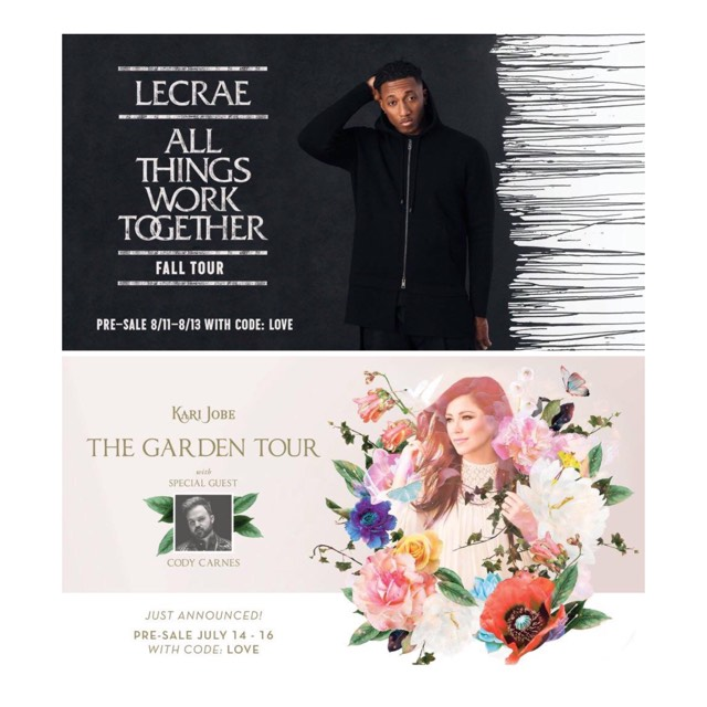 2 BIG EVENTS THIS WEEK COMING TO NOLA AREA: LECRAE & KARI